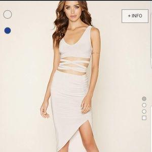 2 piece women's dress